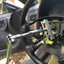 02 wrx steering wheel swap problems subaru legacy forums