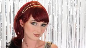 cheveux rouge acajou quel maquillage avec cheveux rouge