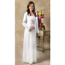 caprice white elegance makers of lds temple clothes tem