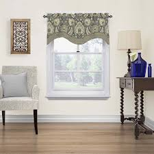 Do Living Room Curtains Have To Go To The Floor Shop Valances At Lowes Com