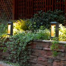 Landscape Path Lights Aliexpress Buy Aluminum Alloy Outdoor Led Garden Bollard