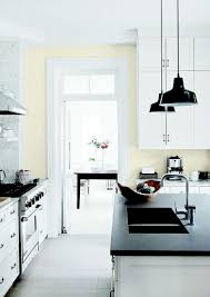 kitchen in fossil grey dark island 2017 with glidden paint colors