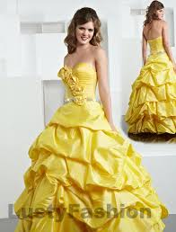 awesome prom dresses yellow gown prom dress lustyfashion