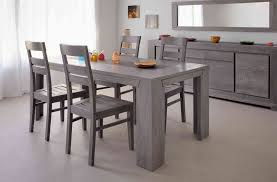 table de cuisine design table de cuisine design charmant chaise de cuisine grise awesome lot