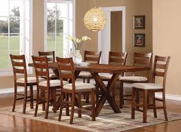 dining tables bar kitchen table 7 piece counter height dining