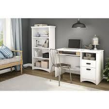 sauder premier 5 shelf composite wood bookcase south shore axess 4 shelf bookcase in pure white 7250767c the