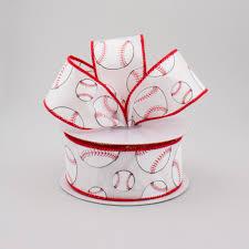 baseball ribbon 1 5 baseball ribbon 10 yards rg1746 craftoutlet
