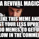 Magician Meme - household magician meme generator imgflip