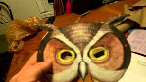 making an owl costume youtube