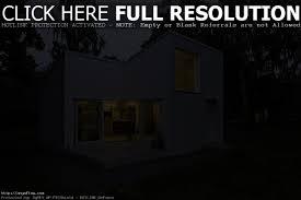architectures modern minimalist small house design eye catching