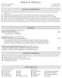 Nurse Practitioner Resume Example by Nurse Practitioner Resume Samples Sample Resumes