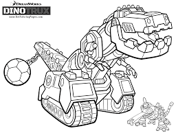 dinotrux coloring pages getcoloringpages com