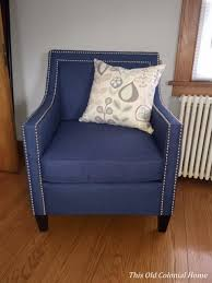 accent chair this old colonial home