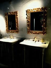 bathroom mirror frame ideas luxury bathroom mirror frames in gold designs that revive forgotten