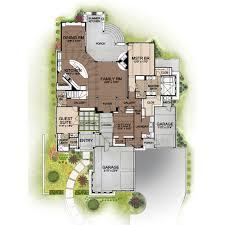 prairie style house plan 4 beds 4 50 baths 3716 sq ft plan 80 198
