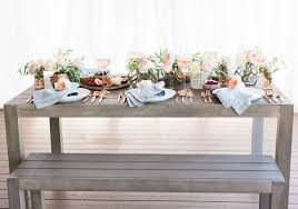 host a summer dinner party with olivia u0026 oliver green wedding