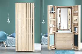 bathroom in a box french designers create a bathroom in a box contemporist