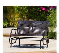 Cool Garden Bench Wicker Bench Outdoor Excellent Crosley Palm Harbor Outdoor Wicker