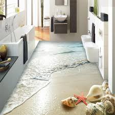 bedrooms flooring idea waves of grain collection by pvc self adhesive waterproof 3d wallpaper modern beach wave shells