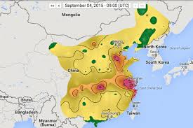 Utc Map See China U0027s Air Pollution In Real Time The Verge