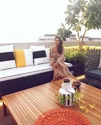 karan johar u0027s terrace marvelously designed by gauri khan zricks