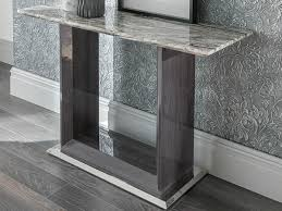 matching floor and table ls donatella marble console table allans furniture warehouse