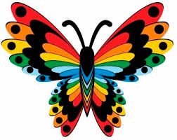 beautiful butterflies design butterfly eps free vector