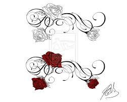 Rose Flower Design Best 20 Flower Vine Tattoos Ideas On Pinterest Rose Tattoo