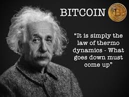 Einstein Meme - albert einstein on bitcoin meme viral chop videos