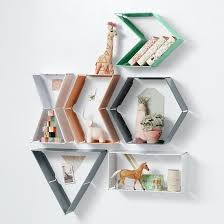 buy or diy the coolest geometric shelves under 100 apartment