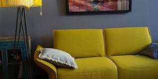 canapé marque allemande industriel vintage fauteuil relax meuble tv pour un interieur