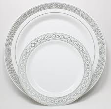 silver wedding plates paper plates at reception weddings etiquette and advice