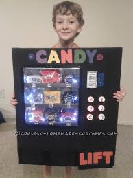 Light Halloween Costumes by Awesome Light Up Vending Machine Costume Homemade Costumes