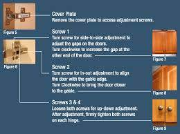 adjust kitchen cabinet doors amazing 3 adjusting cabinet doors legacy kitchens news with regard