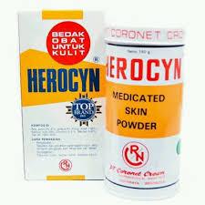Bedak Gatal jual herocyn bedak gatal 150gr di lapak amvera amvera