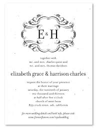 plantable wedding invitations best plantable wedding invitations 28 sheriffjimonline