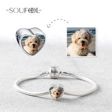 personalized picture charms upload your precious photo into the charms soufeel heart