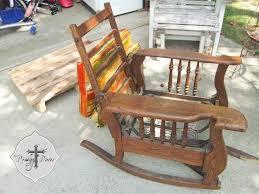 Broken Rocking Chair Creating Budget Style Beach Decor Prodigal Pieces