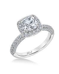 cushion engagement rings cushion cut engagement rings
