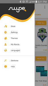 swype apk swype keyboard android apps on play