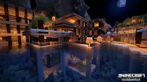 Minecraft House Map Luxurious Cove House Map 1 12 2 1 11 2 For Minecraft 9minecraft Net