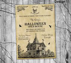 Haunted House Halloween Party by Halloween Invitation Printable Halloween Invitation