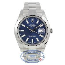 rolex steel oyster bracelet images Rolex datejust ii stainless steel 41mm smooth bezel oyster jpg