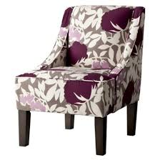 Lavender Accent Chair Decor Of Lavender Accent Chair Hudson Swoop Chair Lavender Floral
