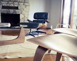 white eames lounge chair and ottoman u2014 home ideas collection