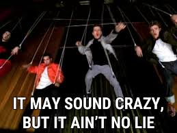No Lie Meme - bye bye bye cover lyrics n sync song in images