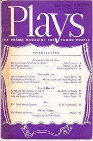 plays the drama magazine for nov 1971 books