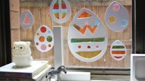 window decorations stained glass easter window decorations kidspot
