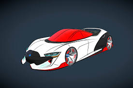 supercar drawing gravity sketch bringing virtual reality into your design workflow
