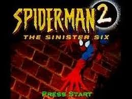 spider man 2 sinister game boy color